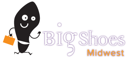 Big Shoes Midwest logo